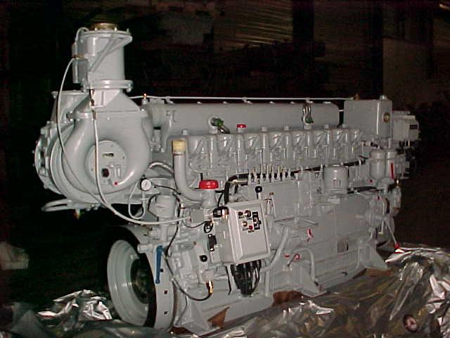 MWM TRHS 518-A MARINE DIESEL ENGINE - Vimo Trading Co  B V  | Deutz