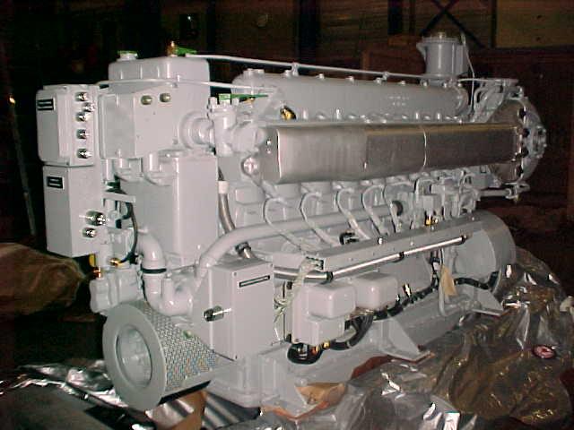 Mwm Trhs 518 A Marine Diesel Engine Vimo Trading Co B V